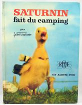 """Saturnin - \""""Saturnin is camping\"""" by Jean Tourane - Editions des deux coqs d\'or"""