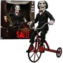 Saw - Billy the Puppet with Tricycle 12-Inch Talking Figure- NECA
