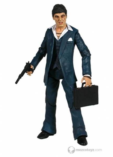 Scarface - \'\'The Player\'\' (Blue Suit) - Tony Montana (Al Pacino)