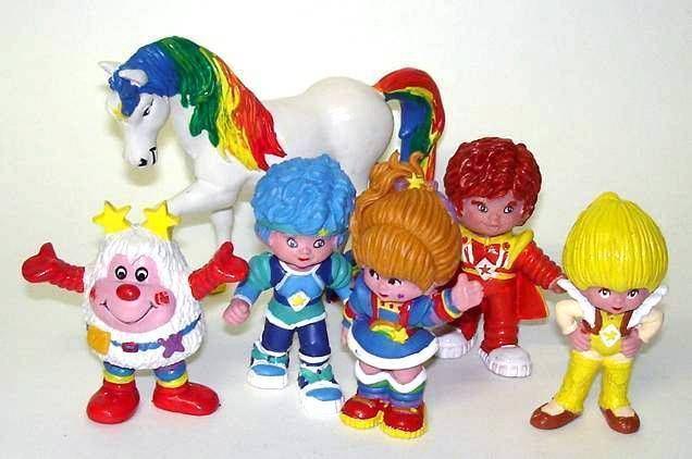 Schleich - Rainbow Brite - 6 pvc figures set