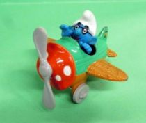 Schtroumpfs - Véhicule Diecast Toy Island - L\'Avion des Schtroumpfs