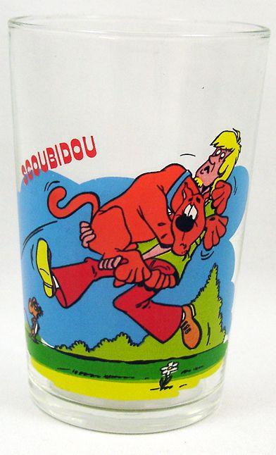 Scooby doo verre moutarde amora scoubidou et sammy - Scooby doo sammy ...