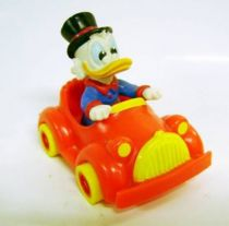Scrooge - McDonald\'s Premium Figures 1986 - Scrooge in car