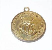 Scrooge - Merchandising - Number One Dime Medal Picsou - Merchandising - Médaille Sou-Fétiche Piscou-Magazine (Decat Paris)