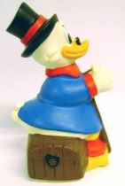 Scrooge - Merchandising - Vinyl Bank Scrooge sits on a chest (Citibank)