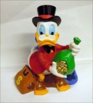 Scrooge - Merchandising - Vinyl Bank Scrooge sits on his Gold (Bullyland)b