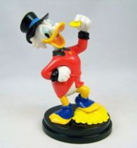 Scrooge - Plastic statue - Scrooge and his idol coin