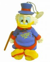Scrooge - Plush with suctions & Messages - Scrooge : Millionaires also need Love...