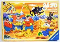 Scrooge - Puzzle 2x20 pieces - Duck Tales (Ravensburger ref.08-992-5)