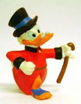 Scrooge - PVC figures - Scrooge walking with his stick to the hand