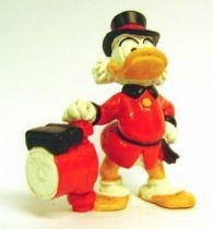 Scrooge - PVC figures Bully - Scrooge with pump (advertising)