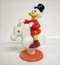 Scrooge - PVC figures Disney - Scrooge rides a wooden horse