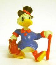 Scrooge - PVC mini figures Disney - Scrooge walking with his stick