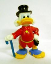 Scrooge - PVC mini figures Disney - Scrooge walking with his stick