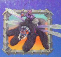 Sectaurs - Coleco - General Spidrax & Spiderflyer