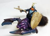 Sectaurs - Coleco - Pinsor & Battle Beetle (loose)