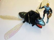 Sectaurs - Coleco - Prince Dargon & Dragonflyer (loose)