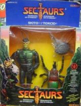 Sectaurs - Coleco - Skito &Toxcid