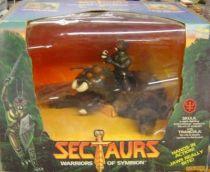 Sectaurs - Coleco - Skulk & Trancula set