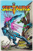 "Sectaurs Warriors of Symbion - Coleco - Mini-Comic \""Skito & Toxcid\"""
