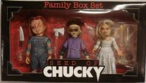 Seed of Chucky - Chucky, Glen & Tiffany - Cult Classics figures boxed set