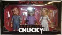Seed of Chucky - Chucky, Glen & Tiffany - Cult Classics figures boxed set