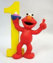 Sesame Street - Applause - figurine pvc - Elmo et 1 bateau