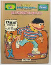 """Sesame Street - Comic album - \""""Des experts en bévue\"""" - Mengues Hachette 1978"""