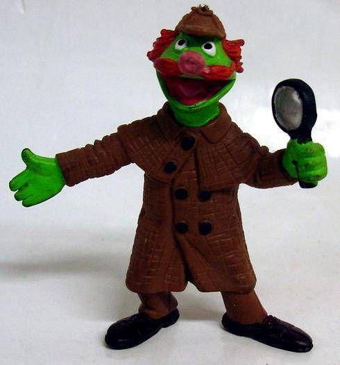 Sesame Street - Comic Spain - Pvc figure - Sherlock Hemlock