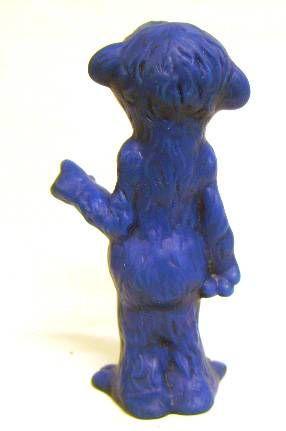 Sesame Street - Delacoste - \'\'Unpainted\'\' 4\'\' Squeeze toy - Mordicus (loose)
