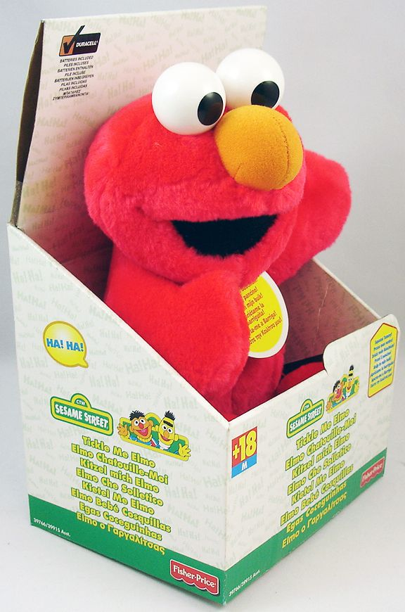 sesame street fisher price elmo chatouille moi. Black Bedroom Furniture Sets. Home Design Ideas