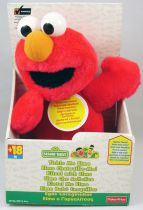 Sesame Street - Fisher-Price - Tickle Me Elmo - talking electronic plush doll