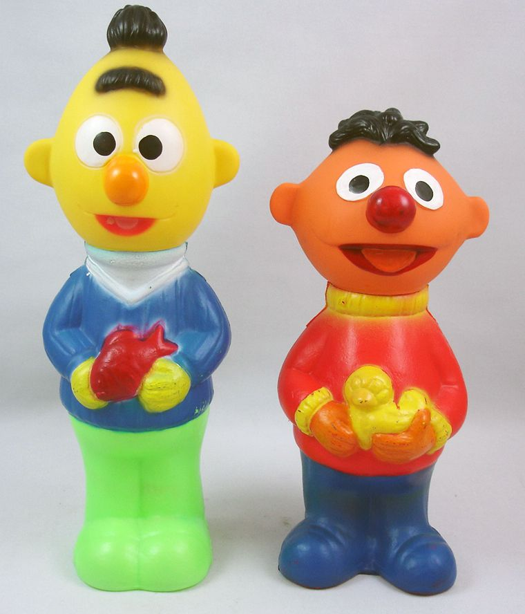 Street - Grosvenor - Bubble Bath Containers - Bert & Ernie