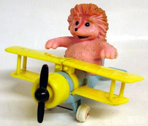 Sesame Street - Guisval - Die-cast plane - Espinete