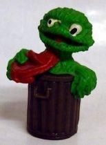 Sesame Street - Heimo - Pvc figure - Oscar the Grouch