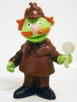 Sesame Street - Heimo - Pvc figure - Sherlock Hemlock