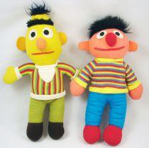 "Sesame Street - Knickerbocker - Bert & Ernie 10\"" rag doll (loose)"