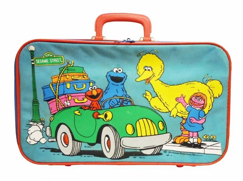 Sesame Street - Lugages - Children Suitcase