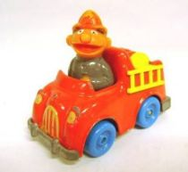 Sesame Street - Playskool - Die-cast vehicle - Firemen Ernie with Truck