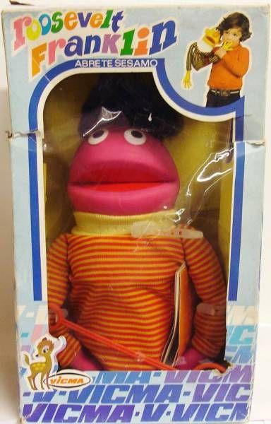 Sesame Street - Vicma - Hand Puppet - Roosevelt Franklin