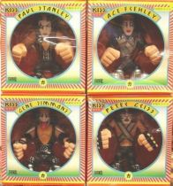 Set of 4 KISS \'\'Gruntz\'\' vynil urban figures