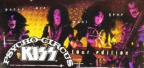 Set of 4 McFarlane KISS Psycho Circus (Tour Edition) figures