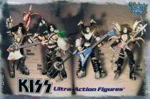 Set des 4 figurines KISS UltraAction Figures - McFarlane Toys (1997) 01