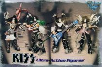 Set des 4 figurines KISS UltraAction Figures - McFarlane Toys (1997) 01