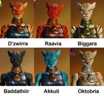 Seventh Kingdom - Four Horsemen - The Queen\'s Council (D\'zwirra, Raavia, Bigarra, Baddathiir, Akkuli, Oktobria)