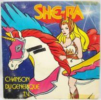 She-Ra - Chanson du Générique TV - Disque 45Tours - AB Prod. 1986