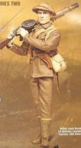 Sideshow Toy - Bayonets & Barbed Wire - British Lewis Gunner, 1st Battalion Lancashire Fusiliers, 29th Division