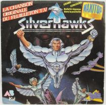 Silverhawks - Disque 45Tours - Bande Originale - AB Kid 1988