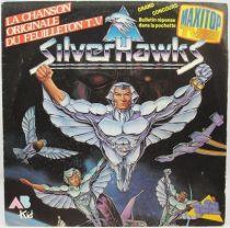 Silverhawks - Disque 45Tours - Bande Originale - AB Kid 1988