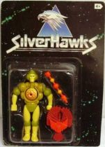 Silverhawks - Mo-lec-u-lar & Volt-ure (Black card)
